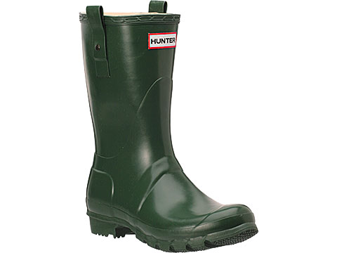 Hunter Original Short Rain Boot Green